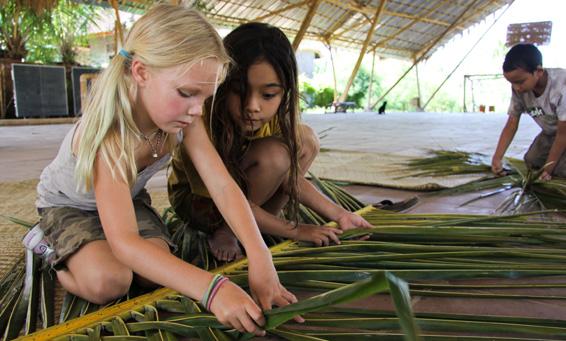 scuola bamboo