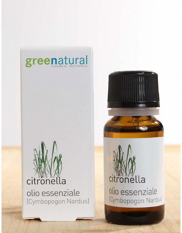 olio di citronella antizanzare