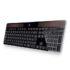 La tastiera a energia solare: Logitech Wireless Solar Keyboard K750 per il computer green