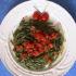 Strozzapreti alle ortiche con dadolata di pomodoro