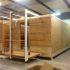 Case di legno smontabili per l'edilizia popolare