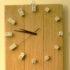 Quando i dadi diventano un orologio a muro