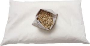 cuscino in pula di farro