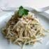 Ricetta vegetariana: sedano rapa cremoso al tartufo e olio di nocciole