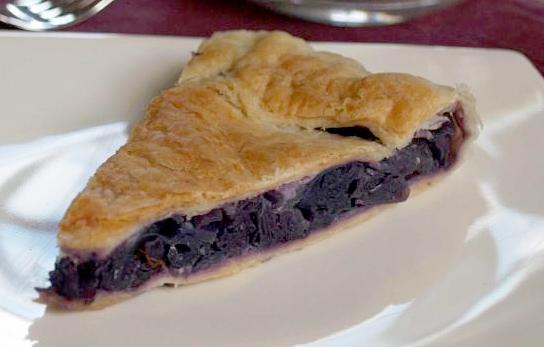 Torta salata al cavolo viola