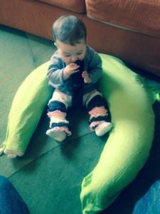 cuscino allattamento di stile naturale