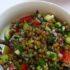 Ricette di insalate: l'insalata di lenticchie biologiche
