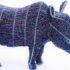 Statuette di rinoceronte nero per salvare la specie