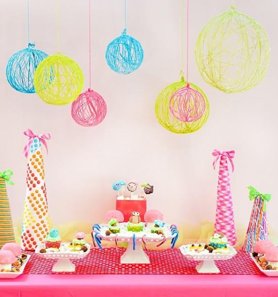 Favori Riciclo creativo, Decorazioni per una festa di compleanno fai da te ER47