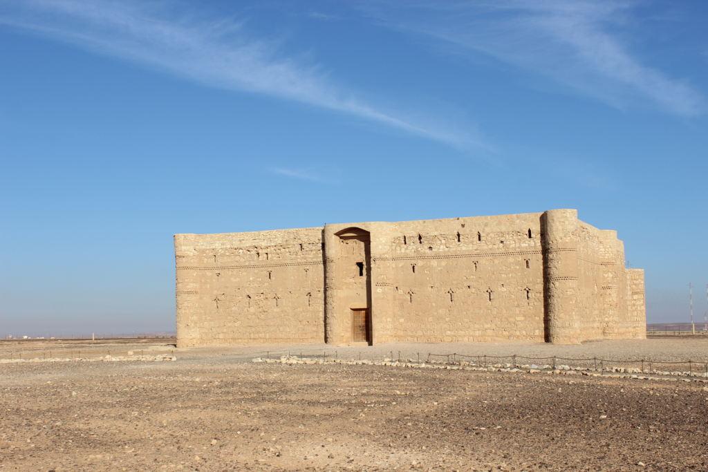 giordania castello Qasr Qharana (4)