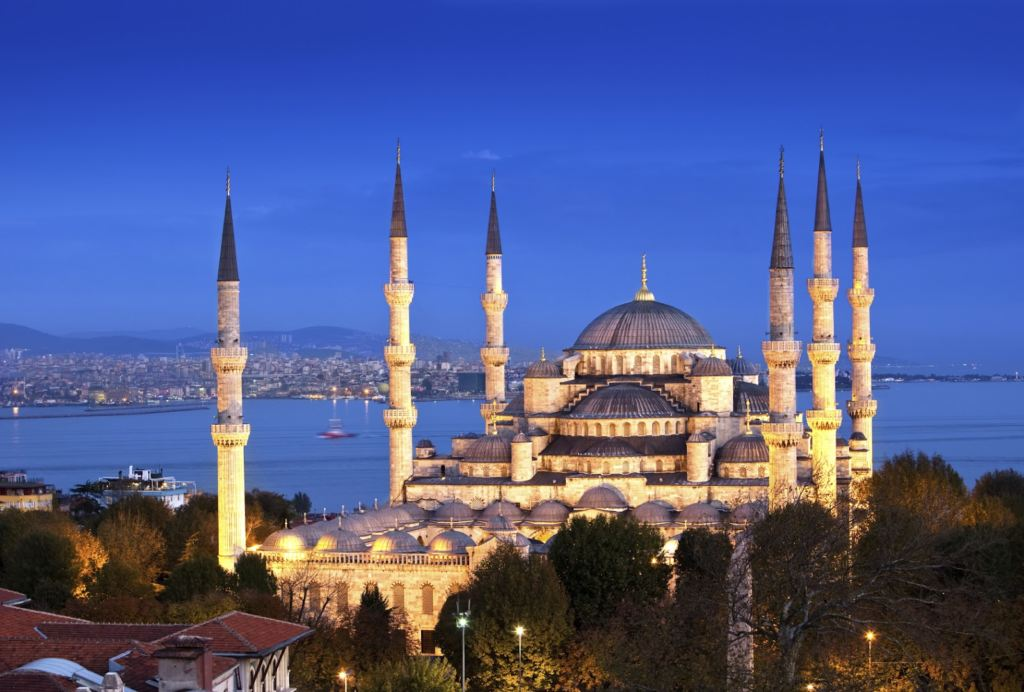 istambul  Moschea blu