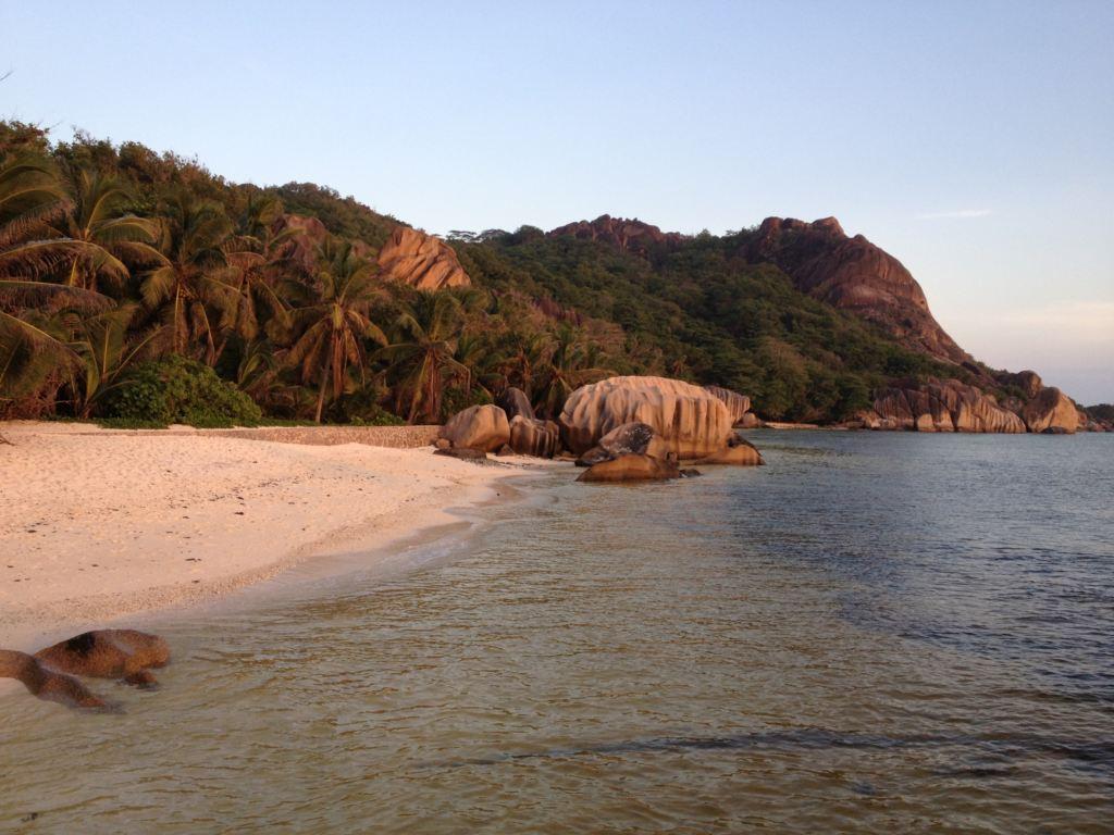 Seychelles spiaggia