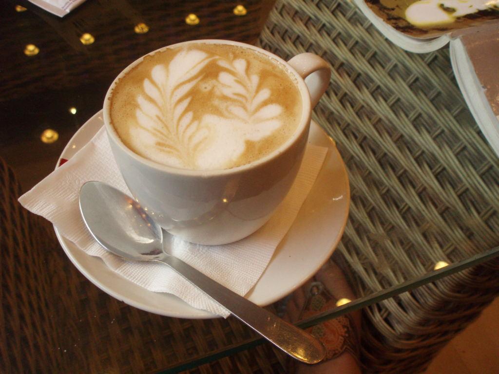 caffè sospeso primo piano