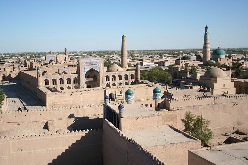 Uzbekistan Khiva, Itchan Kala