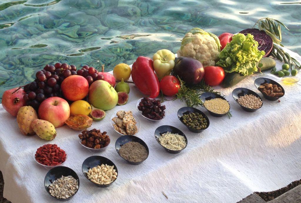 CUCINA NATURALE cereali frutta e verdura