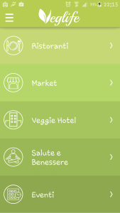 VegLIfe: tutte le categorie