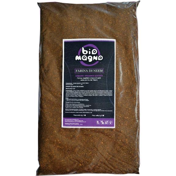 concime organico farina di neem