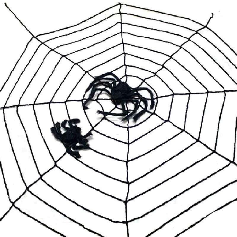 Come fare la ragnatela di Halloween (le guide) 363974693ff4