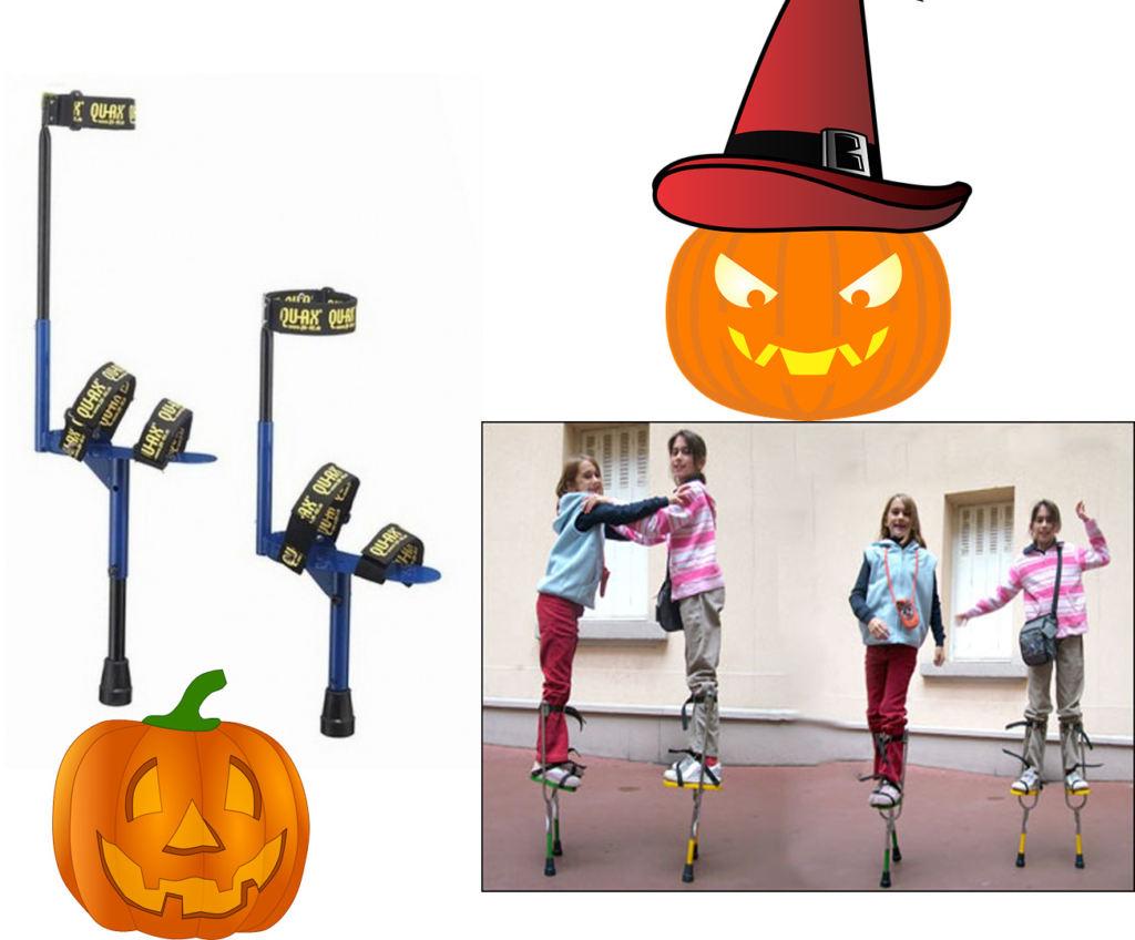 trampoli piccoli halloween