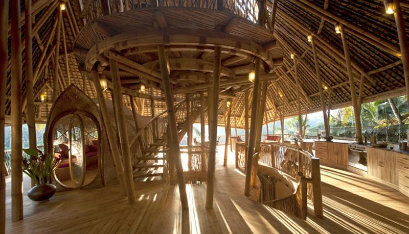 Interno giorno di bamboo
